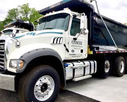 Comer Construction Adds Four New Dump Trucks To Fleet - Comer ...