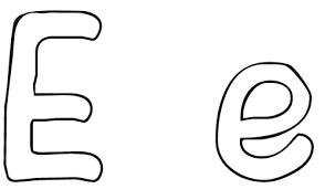 Bubble Letter E Coloring Pages Coloring Pages Bubble Letters S