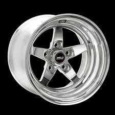 Weld Racing 71MP 510N75C RT S S71 15x10 Rear Wheel Polished