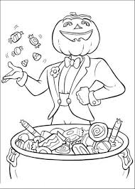 Hard Halloween Coloring Pages Az Candy With