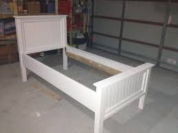 Ana White Headboard Plans by Ana White Modified Twin Farmhouse Bed Diy Projects