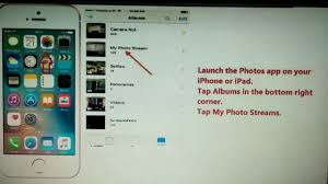 How to access your My photo Stream on your iPhone and ipad
