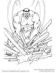 Hulk Agents Of Smash Coloring Pages And The Colouring Pictures Beautiful Incredible With Additional Free Kids