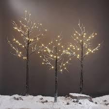 Christmas Tree 7ft Pre Lit by Amazon Com Lightshare 5 Feet Snow Dusted Tree 72 Led Lights
