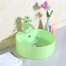 hp b001 badezimmer runde arbeits platte waschbecken farben waschbecken für kindergarten buy farben waschbecken für kindergarten bad runden