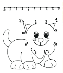 Free Hard Dot To Printables For Adults Connect The Dots Coloring Pages Worksheets Kids Part Kindergarten