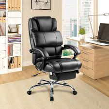Merax Black Ergonomic PU Leather Big And Tall Office Chair ... Desk Chair Asmongold Recall Alert Fall Hazard From Office Chairs Cool Office Max Chairs Recling Fniture Eaging Chair Amazing Officemax Workpro Decor Modern Design With L Shaped Tags Computer Real Leather Puter White Black Splendid Home Pink Support Their
