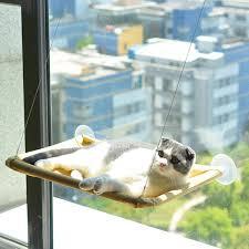 Cat Bed Window Perch Hammock Sunny Seat Window Mounted Cat Beds Pet