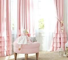 Pink Ruffle Curtains Uk by Light Pink Curtains For Nursery U2013 Teawing Co