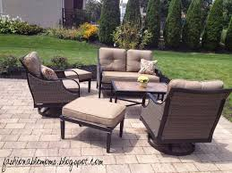Agio Patio Furniture Sears by Exterior Fire Pit Table Design With Wrought Iron Patio Furniture