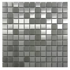 stainless steel mosaic tile 1x1 subway tile outlet