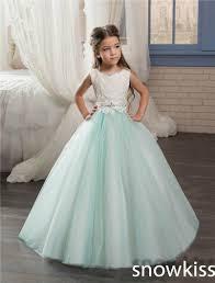 cheap white mint flower girl dress aliexpress