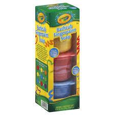 crayola bathtub fingerpaint soap 3 jars 12 fl oz 354 8 ml