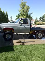 100 1986 Chevy Trucks For Sale K10 Flatbed My First Truck