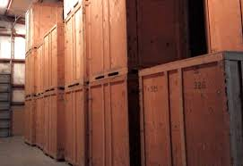 Long Term Storage Crates In Laramie Warehouse