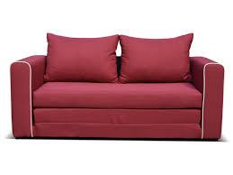 canapé pas cher conforama canapé fixe convertible 2 places en tissu coloris