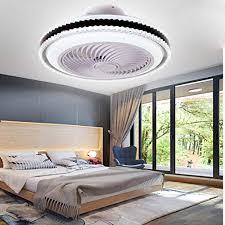 sfoxi fanle deckenventilator mit lichtern leise led licht