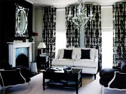 Black And Red Living Room Decorations by Black And White Living Rooms 3443 Simple Black And White Living