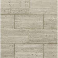 MS International White Oak 12 In X 24 Polished Limestone Floor And Wall