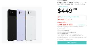 Update: Now $378] Pick Up A Pixel 3a XL For Just $380 ($99 ... See The Best Labor Day Gaming Deals At Ebay Gamespot Jetblue Coupons December 2018 Cleaning Product Free Lotus Vaping Coupon Code Rug Doctor Rental Get 20 Off With Autumn Ebay Promo Code Valid Until Ebay Marketing Opportunities Promotions Webycorpcom New Ebay Page 3 Original Comic Art Cgc Update Now 378 Pick Up A Pixel 3a Xl For Just 380 99 What Is The Share Your Link Community Abhibus November Cyber Monday Deals On 15 Off Discounts And Bargains Today Only 10 Up To 100 All Sony Gears At Off With Debenhams Discount February 20