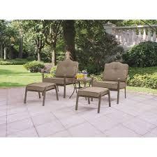 Patio Cushion Sets Walmart by Furniture Cozy Outdoor Furniture Design With Mainstays Patio