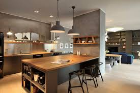 Modern French Country Kitchen Decor Black Wood Island Furniture Grey Wooden Blue L Shape