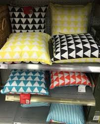 Kmart Lawn Chair Cushions by Outdoor Cushion Blue Moroccan Pattern Kmart Living The Gypsy