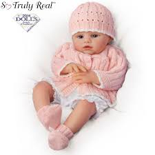 Ashton Drake Abby Rose So Truly Real Lifelike Baby Girl Doll By