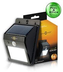 solarblaze bright solar led lights motion sensor