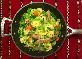 potee de chou vert la débonnaire potée de chou vert à la moutarde voyages en legumie