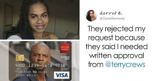 After Bank Denies Girl s Card With Terry Crews It She Contacts