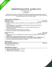 Administrator Resume Sample India Office Administrative Template Assistant Resum