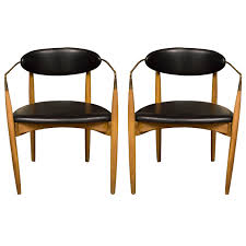 Selig Z Chair Plans by A Pair Of Arm Chairs By Ib Kofod Larsen For Selig Arms Of Curved
