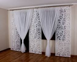 details zu vorhang gardinen set für den balkon 3 platten kokons 8 muster