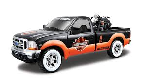 Amazon.com: Maisto 1:24 Scale 1999 Ford F-350 SD And Harley ... 2010 Ford Harleydavidson F150 Review Top Speed 2006 F250 Harley Davidson Super Duty Xl Sixdoor Fdharydavidsef350hdeditionforsalecustom28261 David Beckham Used To Own This Pickup Truck Now You 2012 Feature Snakeskin Leather F350 Select Auto Sales Ford Limited Edition Harleydavidson Pickup In Caerphilly 2009 F450 Caught Undguised 2008 Triple S Gets A Bold New Truck Wrap The Stick Co