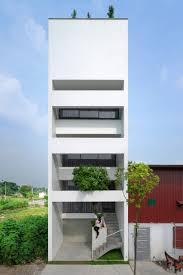 100 Narrow House Designs Bamboo Grows Up Inside Narrow Vietnam House By Nguyen Khac