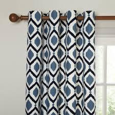 Navy Geometric Pattern Curtains by Buy John Lewis Indah Lined Eyelet Curtains John Lewis