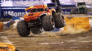 100 Monster Trucks Nashville Jam Highlights 2017 YouTube