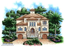 100 Three Story Beach House Plans Plan 3 Coastal Mediterranean Style Transitional