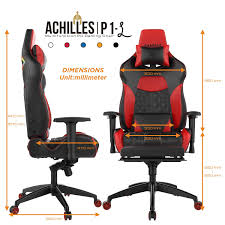 GAMDIAS Multi-Color RGB Gaming Chair High Back With Footrest ... Dxracer King Series Gaming Chair Blackwhit Ocuk Best Pc Gaming Chair Under 100 150 Uk 2018 Recommended Budget Pretty In Pink An Attitude Not Just A Co Caseking Arozzi Milano Blue Gelid Warlord Templar Chairs Eblue Cobra X Red Computing Cellular Kge Silentiumpc Spc Gear Sr500f Unboxing Review Build Raidmaxx Drakon Dk709 Jdm Techno Computer Center Fantech Gc 186 Price Bd Skyland Bd Respawn200 Racing Style Ergonomic Performance Da Gaming Chair Throne Black Digital Alliance Dagamingchair