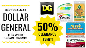 Best Deals At Dollar General This Week 10/6 - 10/12/19 Clearance Event  Coming!
