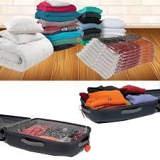 lot de 7 sacs housses de rangement sous vide spécial vêtements coue