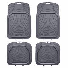 4pcs Rubber Car Floor Mat Universal Full Set Carpet Mats Rug Truck ... All Weather Floor Mats Truck Alterations Uaa Custom Fit Black Carpet Set For Chevy Ih Farmall Automotive Mat Shopcaseihcom Chevrolet Sale Lloyd Ultimat Plush 52018 F150 Supercrew Husky Whbeater Rear Seat With Logo Loadstar 01978 Old Intertional Parts 3d Maxpider Rubber Fast Shipping Partcatalog Heavy Duty Shane Burk Glass Bdk Mt713 Gray 3piece Car Or Suv 2018 Honda Ridgeline Semiuniversal Trim To Fxible 8746 University Of Georgia 2pcs Vinyl