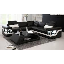 canapé d angle cuir design canapé d angle lit en cuir maison et mobilier d intérieur