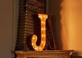 South West Letter Lights Handmade Letter Lights For Wedding
