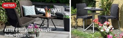 keter 3 pc all weather outdoor patio garden