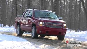 100 Avalanche Trucks Chevrolet Consumer Reports 2012 Top Pick Pickup Truck