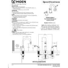 Moen Darcy Faucet Specs by Moen Ws84004 Traditional Chrome Two Handle Widespread Bathroom