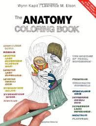 The Anatomy Coloring Book Popular Wynn Kapit