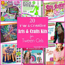 20 Fun Creative Craft Kits For Tween Girls Essentially Mom Within Art And